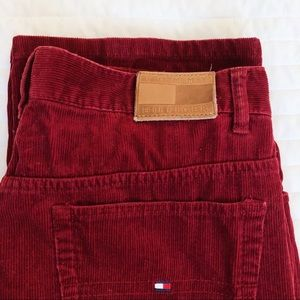 Red Cord Tommy Pants
